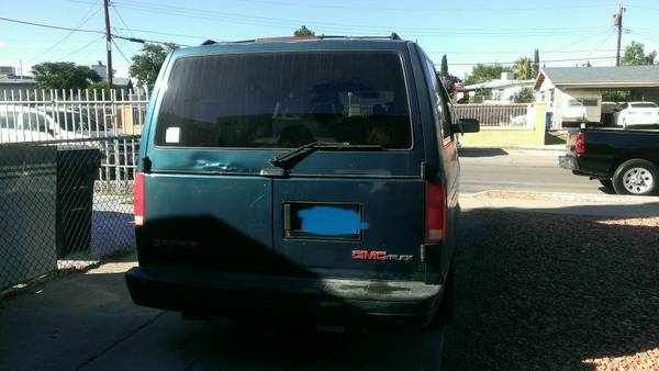 1995 gmc safari passenger van auto for sale in el paso tx