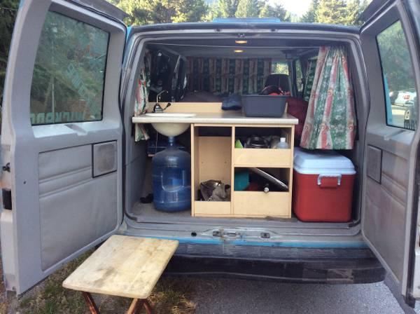 1995 GMC Safari Camper Van V6 Auto For Sale in Whistler, BC