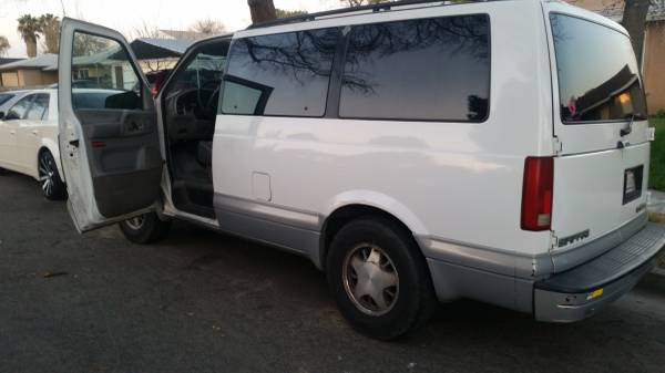 Craigslist Fresno Madera >> 1997 GMC Safari Passenger Van V6 Auto For Sale in Madera, CA