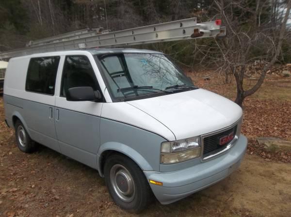 1996 GMC Safari Cargo Conversion Auto For Sale in Concord, NH