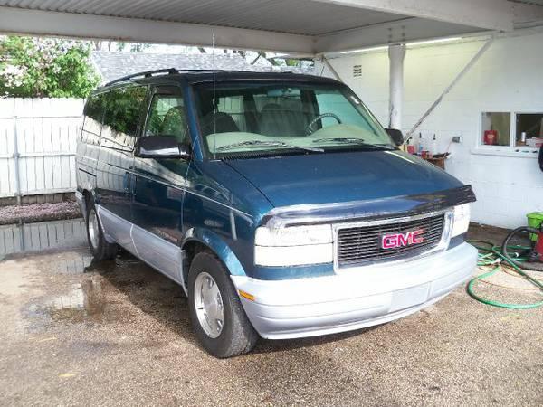 2000 GMC Safari Passenger Van V6 Auto For Sale in ...